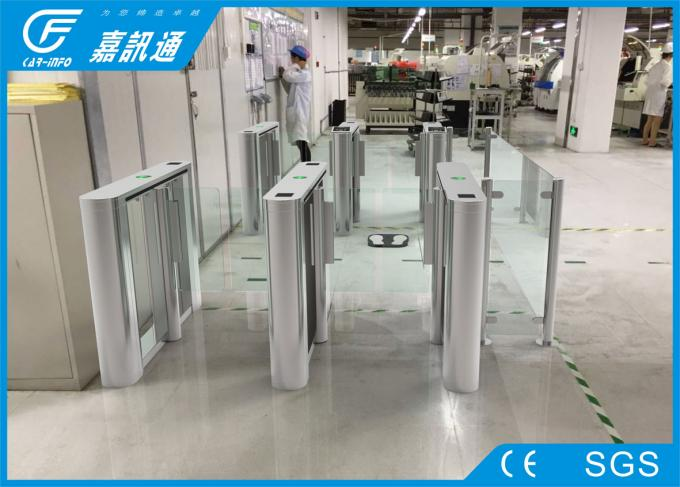 Entry doors access control facial recognition infrared sensor fast speed automatic swing turnstile gate & Entry doors access control facial recognition infrared sensor fast ...