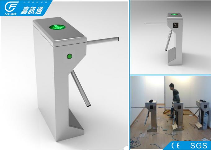 Semi - Automatic Electronic Turnstile Gates Working Voltage DC24V Anti - Reverse Function
