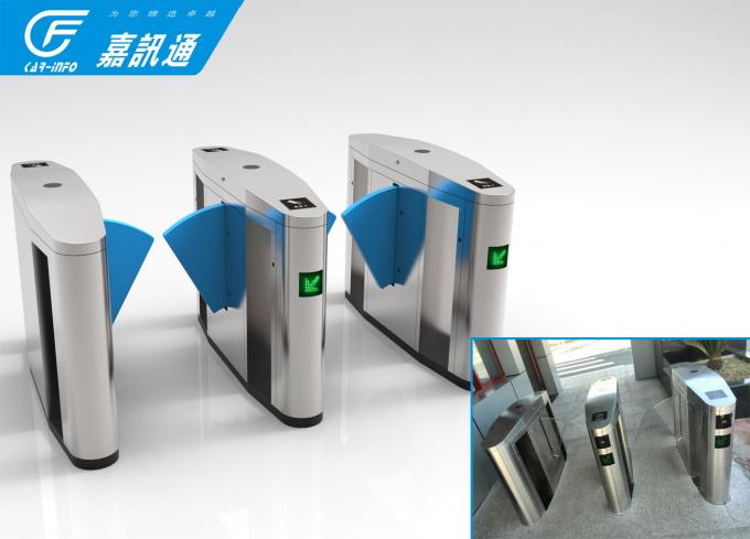 Bank Hall Office Security Gates , Apartment React Quickly Speed Gate Turnstile