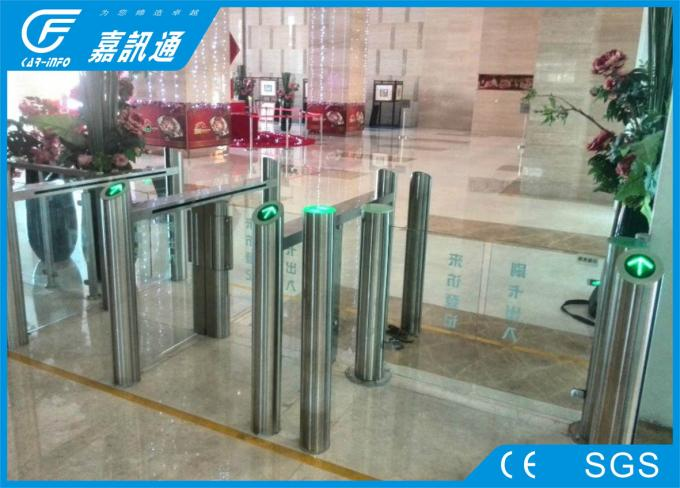 Building Hall Speed Swing Gate Turnstile , Comercial Turnstile Gate Systems