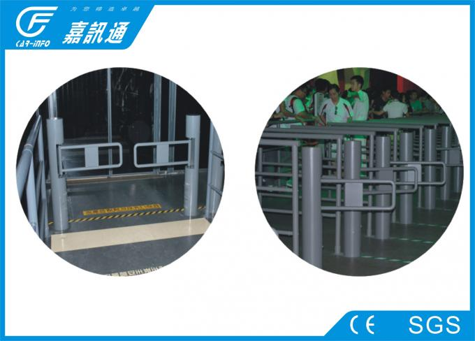 Fast Speed Access Control Turnstile Gate , Full Automatic Swing Gate Turnstile