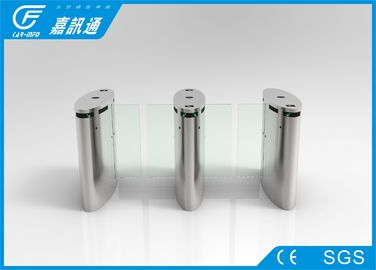 China Adjustable Half Height Turnstile Sliding Speed Gate Stainless Steel For Swimming Pool supplier