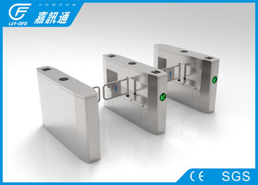 China Pedestrian Barrier Gate With Alarm Function For Business Office Building supplier