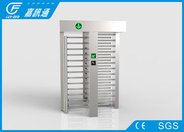 China Smart Speed Full Height Turnstile Double Channel Face Recognition IP44 Protection Grade supplier