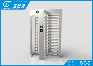 China Full Automatic Pedestrian Turnstile Gate , Commercial Buildings One Way Turnstile supplier