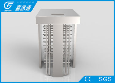 China Automatic IP54 Full Height Turnstile QR Code Card Reader Security Access RS485 Communication supplier