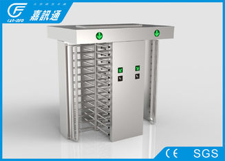 China Mechanical Turnstile Barcode Scanner , IC Reader Turnstile Security Systems supplier