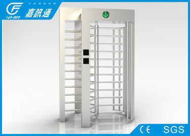 China Outdoor Access Control Full Height Turnstile 40persons / Min With Remote Control supplier