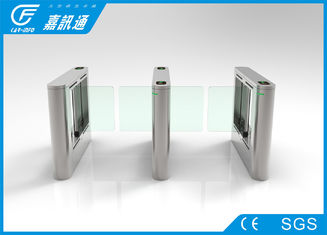 China retractable swing barrier High speed  gate access control system supplier