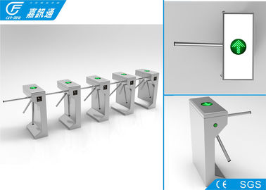 China Semi - Automatic Electronic Turnstile Gates Working Voltage DC24V Anti - Reverse Function supplier