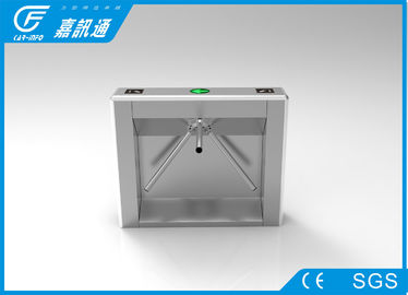 China Security Mechanical Vertical Tripod Turnstile High Speed With Fingerprint Reader supplier