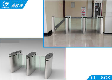 China 304 Stainless Steel Electronic Turnstile Gates Full Automatic Channel Width550 - 850mm supplier