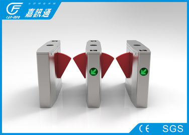 China Office Buiding Access Control Turnstile Gate ,Fingerprint Entrance Waist Height Turnstile supplier