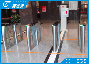 China Remote Control Electronic Turnstile Gates AC220V 50HZ For Commercial Building supplier