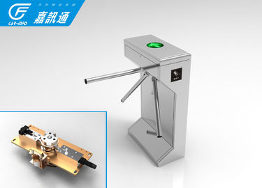 China Outdoor Biometric Vertical Tripod Turnstile Semi Automatic For Swiming Pool Gates supplier