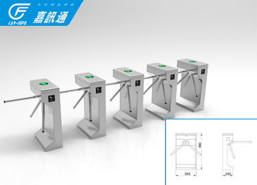 China Bi - Direction Tripod Turnstile Gate , Pedestrian Entrance Tripod Access System supplier