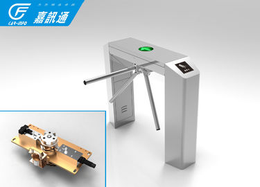 China Rfid Card Reader Office Security Gates , Museum Access Control Turnstile Gate supplier