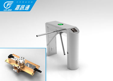 China Rfid Access Control Vertical Tripod Turnstile 304 Stainless Steel Channel Width 550 -- 600mm supplier