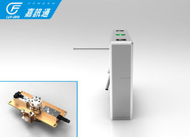 China Gym Vertical Tripod Turnstile 304 Stainless Steel 1.5 Top Cover Access Control Gates supplier