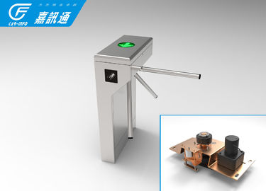 China Optional Single Direction Vertical Tripod Turnstile 40person / Min For Factory Staff Exit supplier