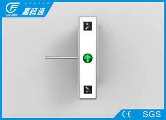 China Security Fingerprint Reader Turnstile Access Control , Pulic Place Turnstile Gate Systems supplier