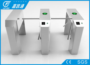 China Intelligent Security Vertical Tripod Turnstile Fingerprint Access Control System supplier