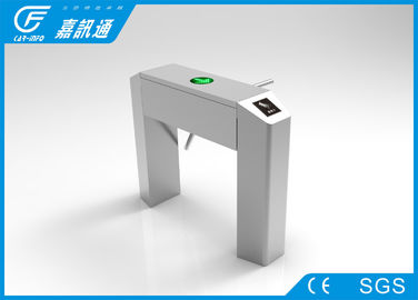 China Factroy Indoor Half Height Vertical Tripod Turnstile React Quickly For Stadium supplier