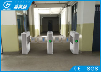 China React Quickly Office Security Gates , Metro Turnstile Barrier Gate Long Service Life supplier