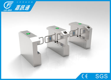 China Outdoor &Indoor Speed Swing Gate Turnstile Brushed Finish For Control The Crow supplier