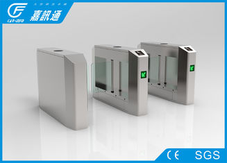 China Electro Mechanical Pedestrian Swing Gate , Outdoor Gym Turnstile Security Doors supplier