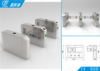 China Double Safe Industrial Turnstile For Factory , React Quickly Single Turnstile supplier