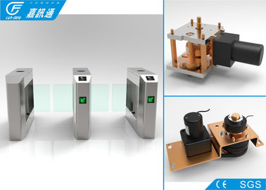 China Automatic Arm Swing Waist Height Turnstile , Intelligent Turnstile Gate Systems IP54 Grade supplier