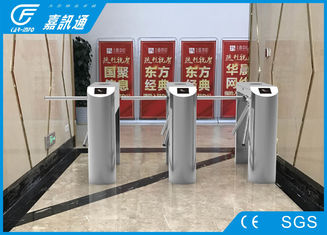 China One Direction Tripod Access System , Remote Control Exit Tripod Turnstile Gate supplier