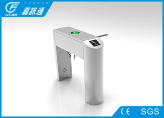 China Automatic Security Coin Operated Turnstile For Ticket Checking And Counting supplier