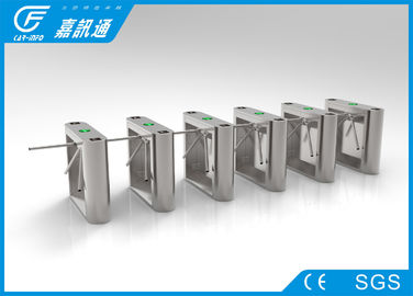 China Semi Auto Tripod Coin Operated Turnstile Bi - Directional Single Passage For Factory supplier