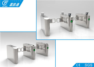 China Bidirectional Direction Swing Barrier Turnstile Lane Width 900 - 1200mm Long Service Life supplier