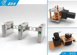 China Biometric Entrance Gate Security Systems , Durable Turnstile Barrier Gate supplier
