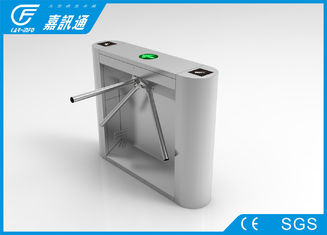 China Factroy Entrance Pedestrian Security Gate , Residence Area Waist Height Turnstile supplier