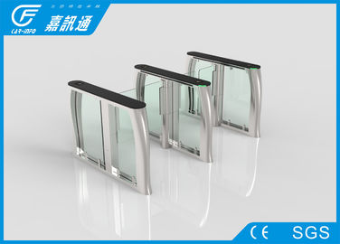China Entrance Security Turnstile Access Control System , Glass Speedgate Swing Gate Turnstile supplier