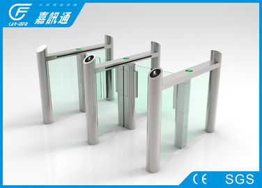 China Building Hall Speed Swing Gate Turnstile , Comercial Turnstile Gate Systems supplier