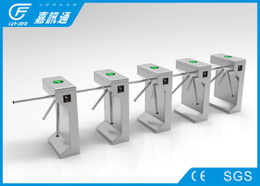 China Commercial 316 Stainless Steel Turnstiles Pedestrian Access Control For  Amusement Parks supplier