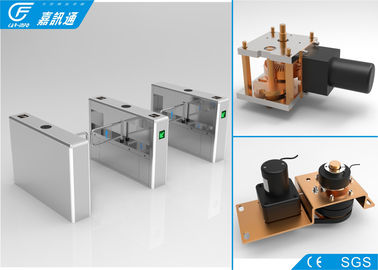 China Semi - Auto Pedestrian Gate Access Control , Playgrounds Turnstile Security Doors supplier