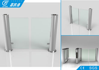 China RFID / NFC Swing Turnstile Entry Systems , 140W / 24V Office Security Gates supplier