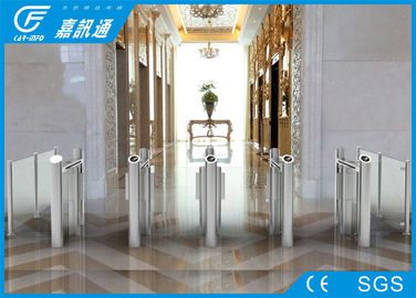 China Smart speed Pedestrian Control Electronic Flap Barrier Gate/  Sliding Gate Glass Turnstiles supplier