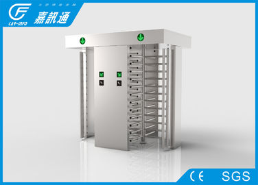 China Security Stainless Steel Full height Turnstiles Gates Ticketing System Control supplier