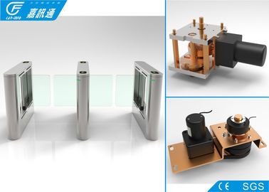 China Electronic Flap Swing Barrier Brushless DC Motor For Access Control Solution supplier