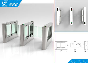 China Office Building Swing Barrier Gate Service Life 5000000 Cycles Fault Detection supplier