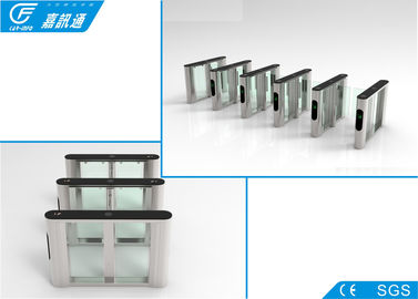 China Outdoor Semi Automaticwaist Height Turnstile ,  Solenoid Bio - Metric Gym Access Control supplier