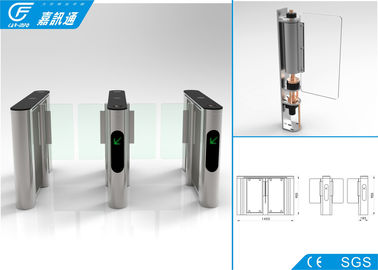 China Security Access Control Coin Operated Turnstile Infrared Sensors For Metro Station supplier