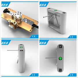 China Stainless Steel Tripod Electronic Turnstile Gates for Supermarket supplier